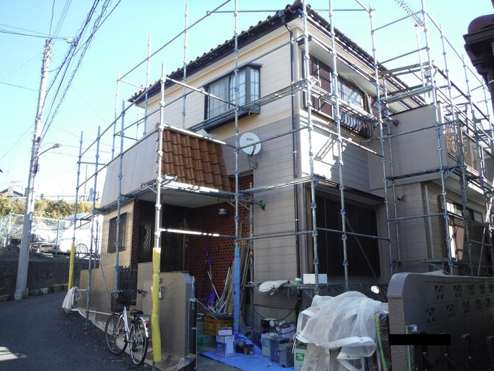 屋根葺き直し、雨樋取替、外壁塗替え ~ 工事終了。_d0165368_7474058.jpg