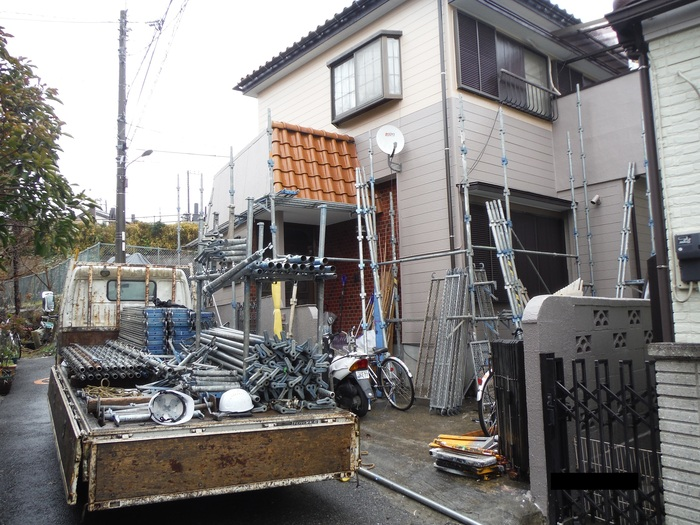 屋根葺き直し、雨樋取替、外壁塗替え ~ 工事終了。_d0165368_748269.jpg