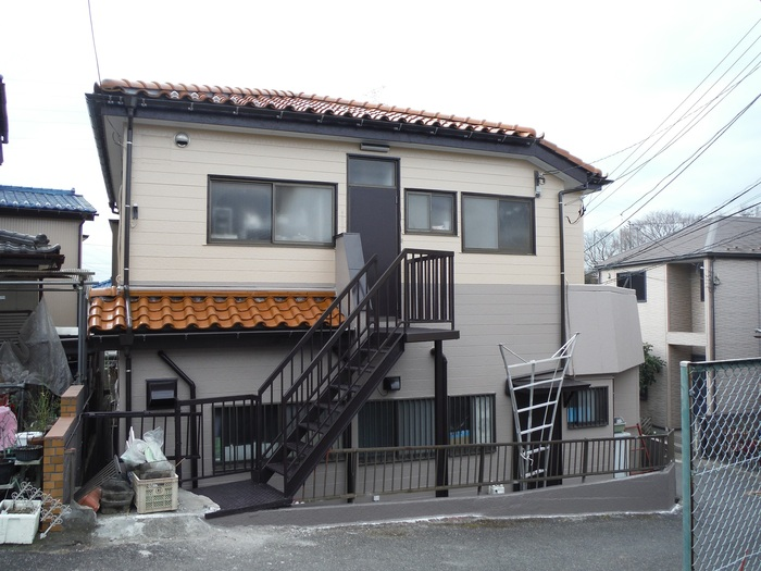 屋根葺き直し、雨樋取替、外壁塗替え ~ 工事終了。_d0165368_7491478.jpg