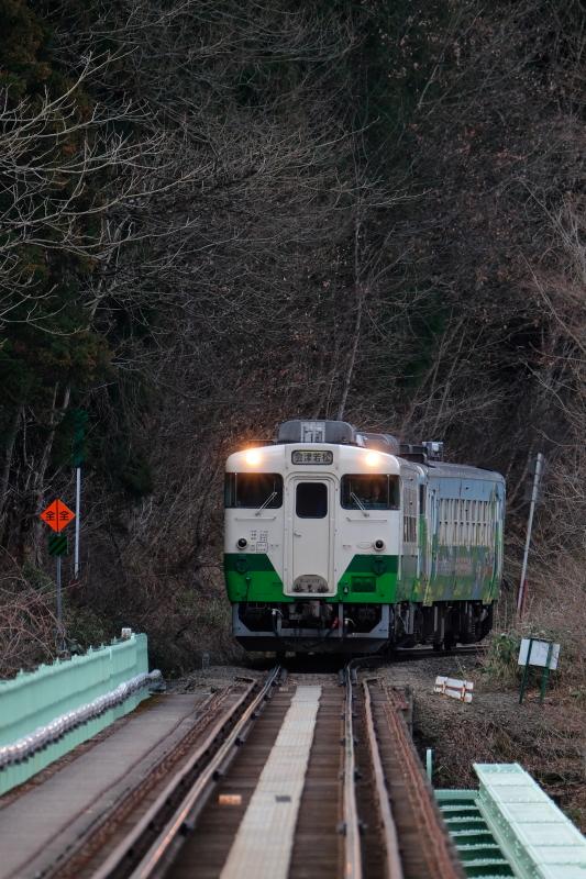只見線・西方駅 第二橋梁  2016・03・26_e0143883_19214131.jpg