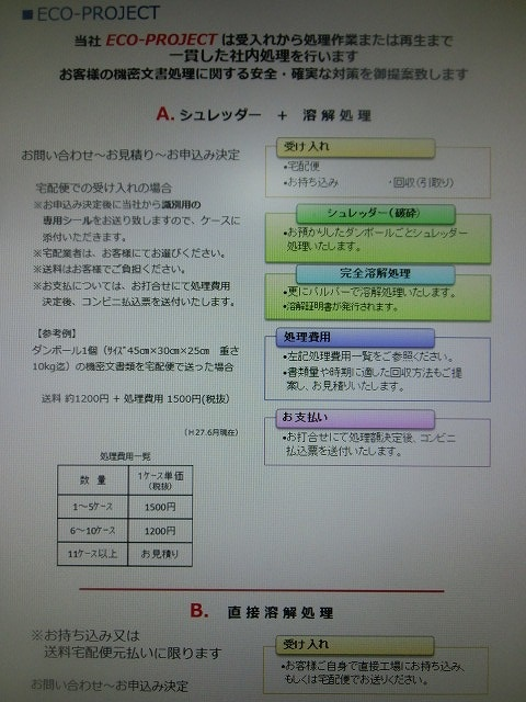 「オトナ文書」も安心・安全に古紙リサイクルできる松菱製紙さんの機密文書処理システム_f0141310_742725.jpg