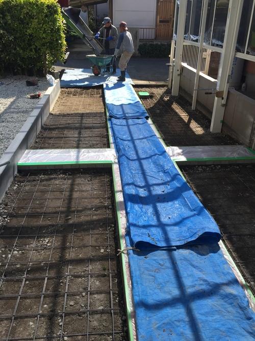 近況アップします。宮崎市Y様邸車庫増設工事_b0236217_9111343.jpg