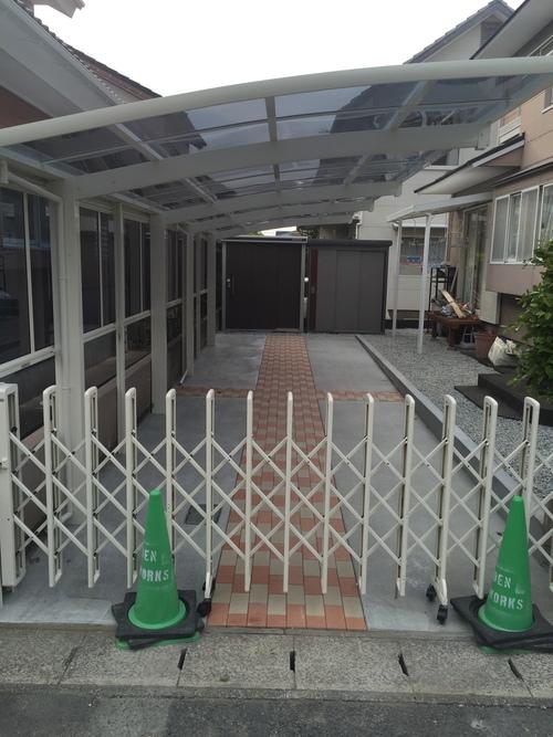 近況アップします。宮崎市Y様邸車庫増設工事_b0236217_9171751.jpg