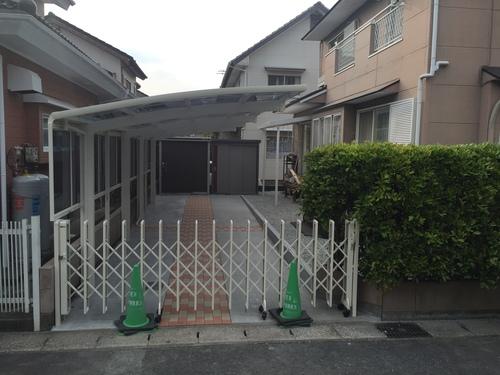 近況アップします。宮崎市Y様邸車庫増設工事_b0236217_9183167.jpg