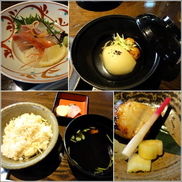 和食ランチと桜と…_c0079828_052429.jpg