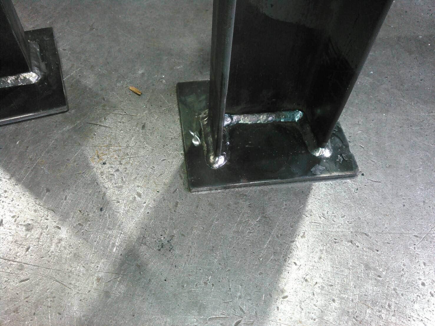 油タンク 架台製作_f0228240_16412615.jpg