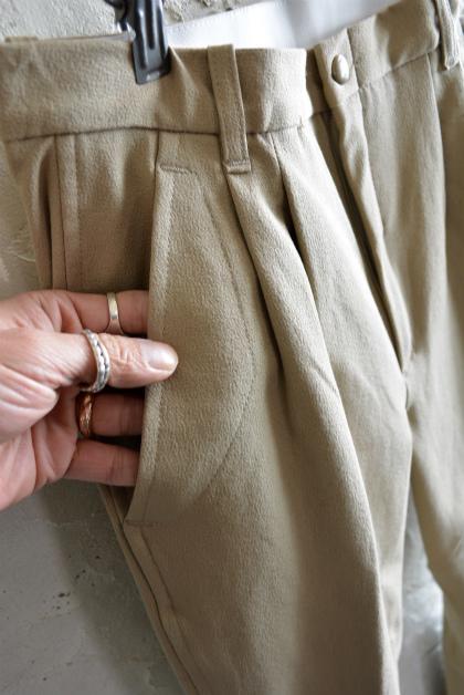 Italian army jodphurs pants dead stock と15周年セール等のお知らせ_f0226051_16393135.jpg
