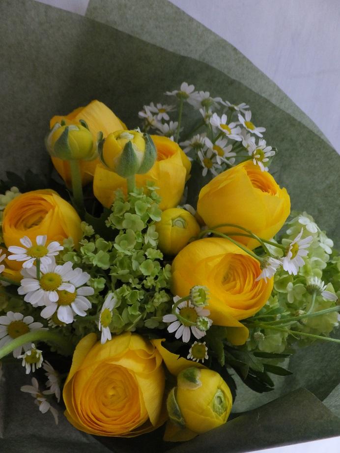 オークリーフ(卒業式の花束)_f0049672_13445360.jpg