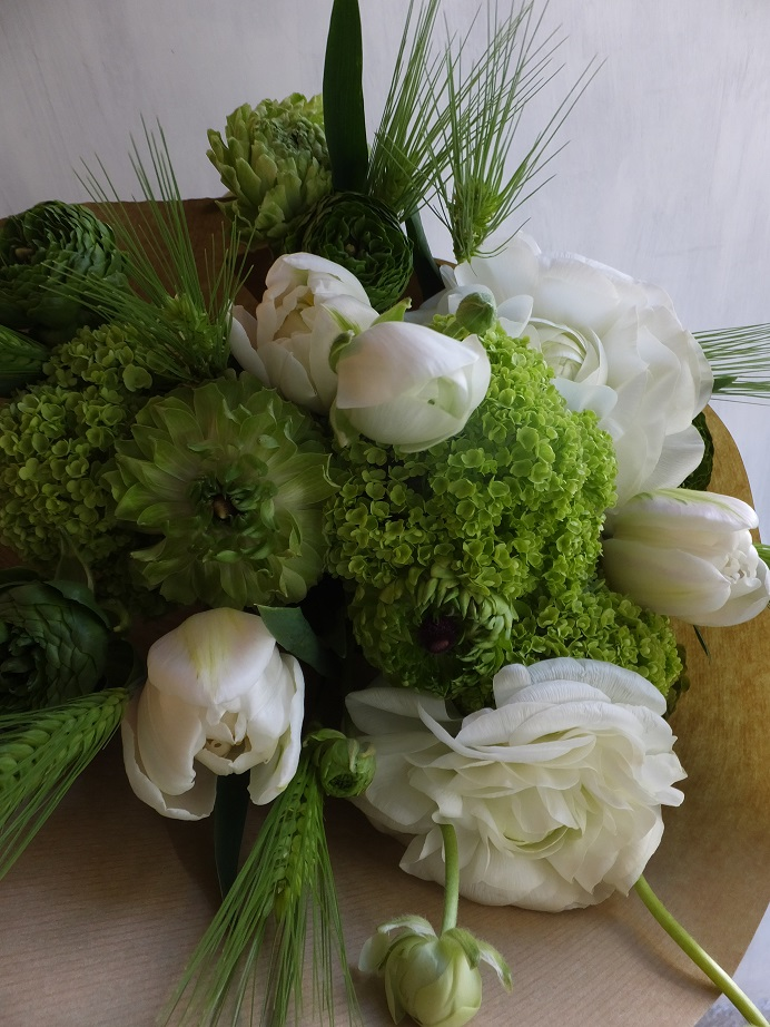 オークリーフ(卒業式の花束)_f0049672_13451497.jpg