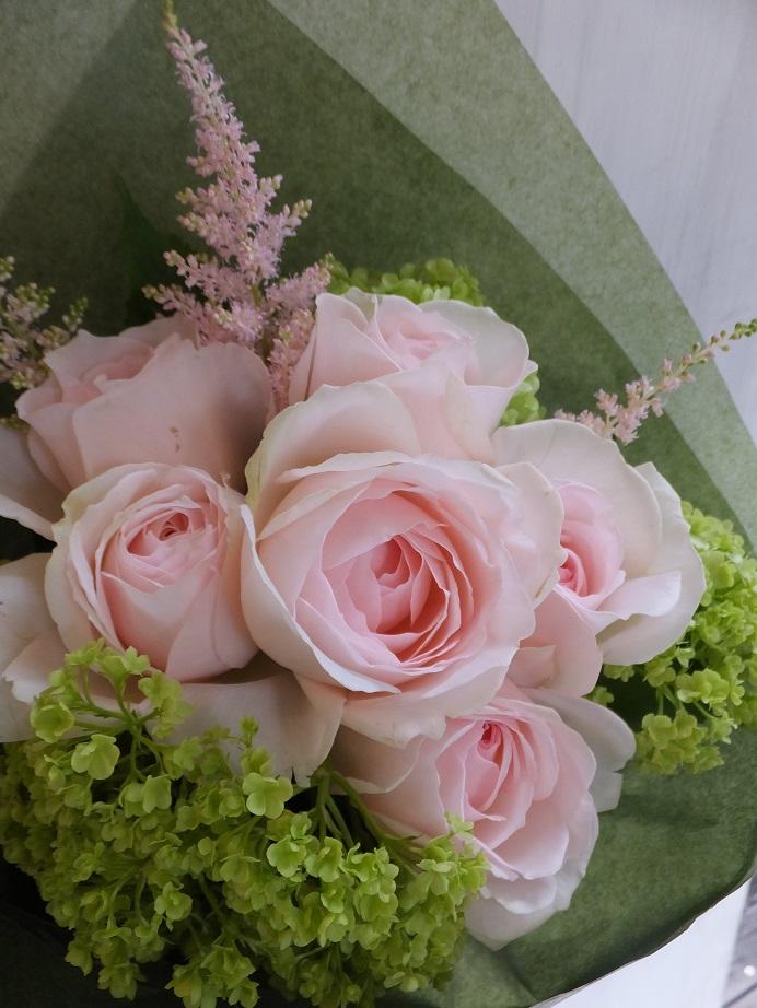 オークリーフ(卒業式の花束)_f0049672_13452280.jpg
