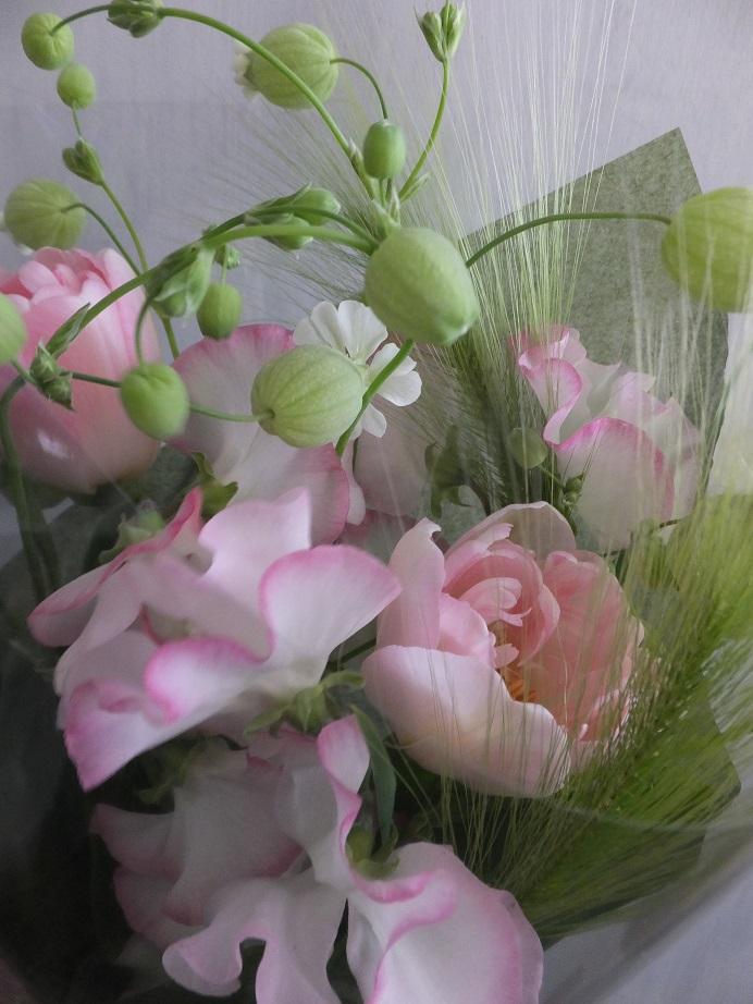オークリーフ(卒業式の花束)_f0049672_1345842.jpg