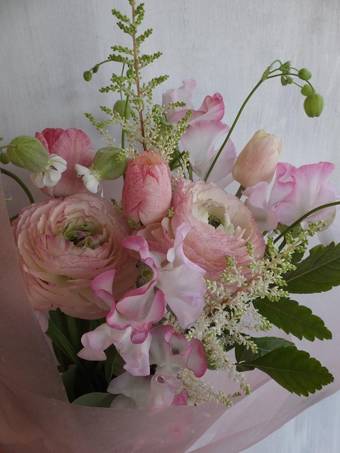 オークリーフ(卒業式の花束)_f0049672_13463226.jpg