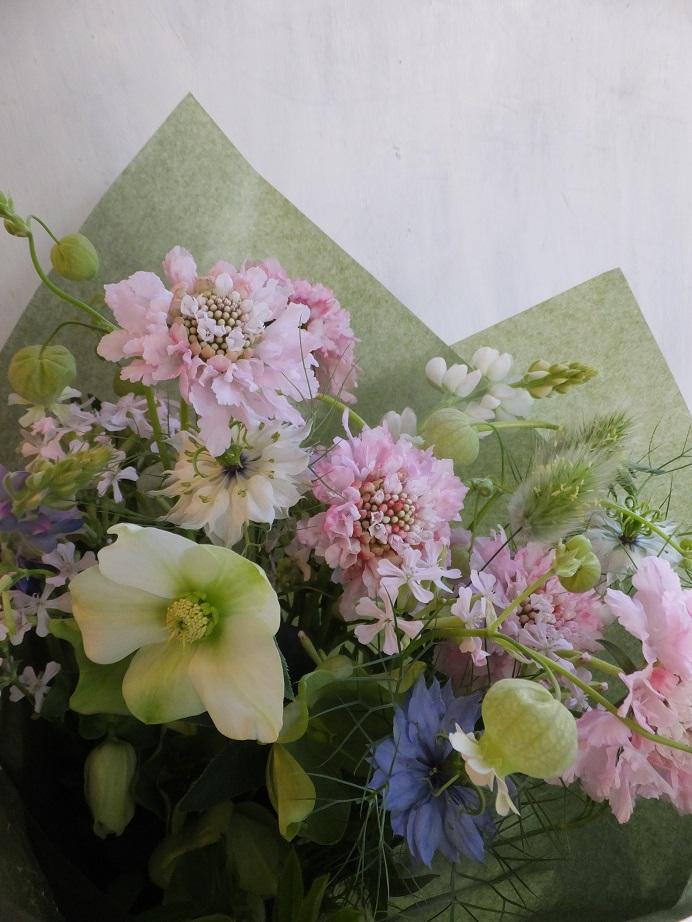 オークリーフ(卒業式の花束)_f0049672_13464446.jpg