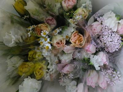 オークリーフ(卒業式の花束)_f0049672_13493954.jpg