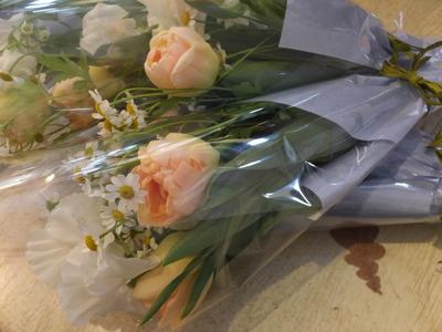 オークリーフ(卒業式の花束)_f0049672_13495161.jpg