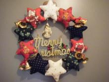 クリスマスリース_a0348473_12401810.jpg