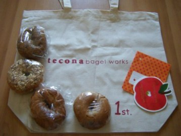 tecona*bagelworks ありがた便_a0348473_12581793.jpg