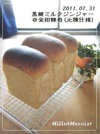 黒糖ミルクジンジャー山食@金柑酵母_a0348473_13174938.jpg