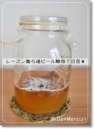 レーズン無ろ過ビール酵母☆_a0348473_13350872.jpg