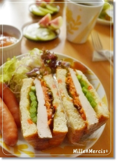 【レシピ】人参とオレンジのしっとり食パン_a0348473_13530768.jpg