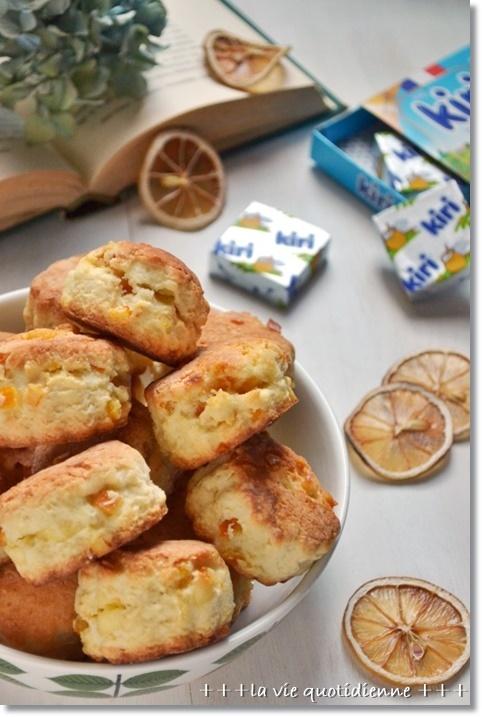 【レシピ】オレンジとクリームチーズのスコーン_a0348473_14282721.jpg