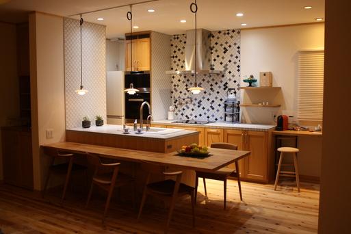 タイルde綺麗なキッチン_a0155290_14114896.jpg