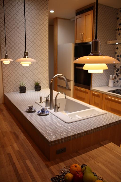 タイルde綺麗なキッチン_a0155290_14173321.jpg