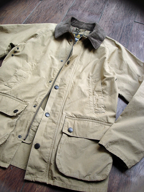 NEW : Barbour [Overdyed Bedale SL] & [Bedale SL Cotton Nylon] 2016 SPRING !!_a0132147_18553230.jpg