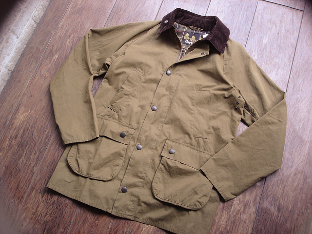 NEW : Barbour [Overdyed Bedale SL] & [Bedale SL Cotton Nylon] 2016 SPRING !!_a0132147_18562360.jpg