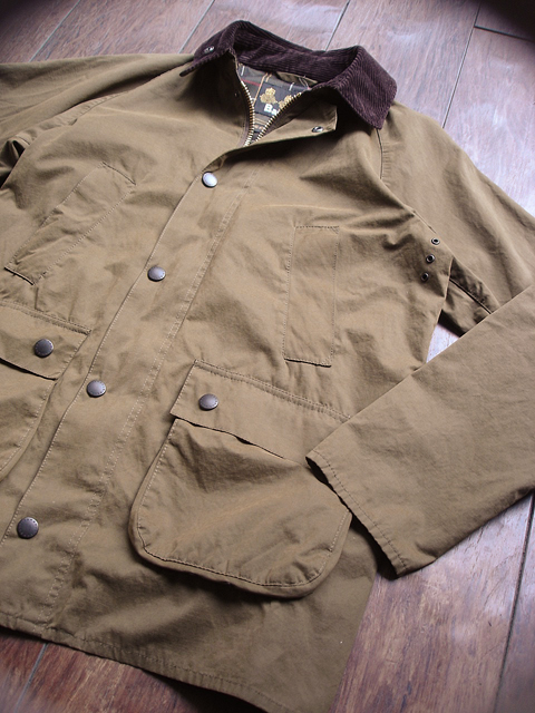 NEW : Barbour [Overdyed Bedale SL] & [Bedale SL Cotton Nylon] 2016 SPRING !!_a0132147_18562980.jpg