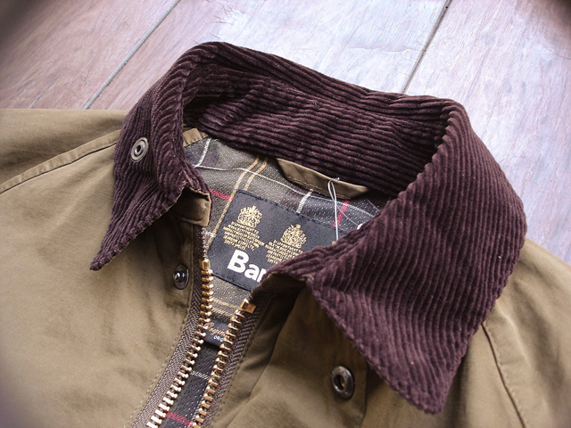 NEW : Barbour [Overdyed Bedale SL] & [Bedale SL Cotton Nylon] 2016 SPRING !!_a0132147_1856432.jpg