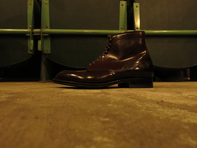 "\""ANATOMICA BY ALDEN TANKER BOOTS DARK BURGUNDY CORDOVAN\""ってこんなこと。_c0140560_11345698.jpg"