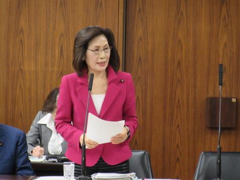 3/31 外交防衛委員会で質問&おもいやり予算への反対討論を行いました。_f0150886_11113917.jpg