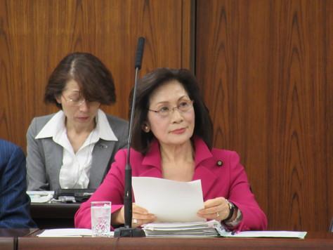 3/31 外交防衛委員会で質問&おもいやり予算への反対討論を行いました。_f0150886_12151396.jpg