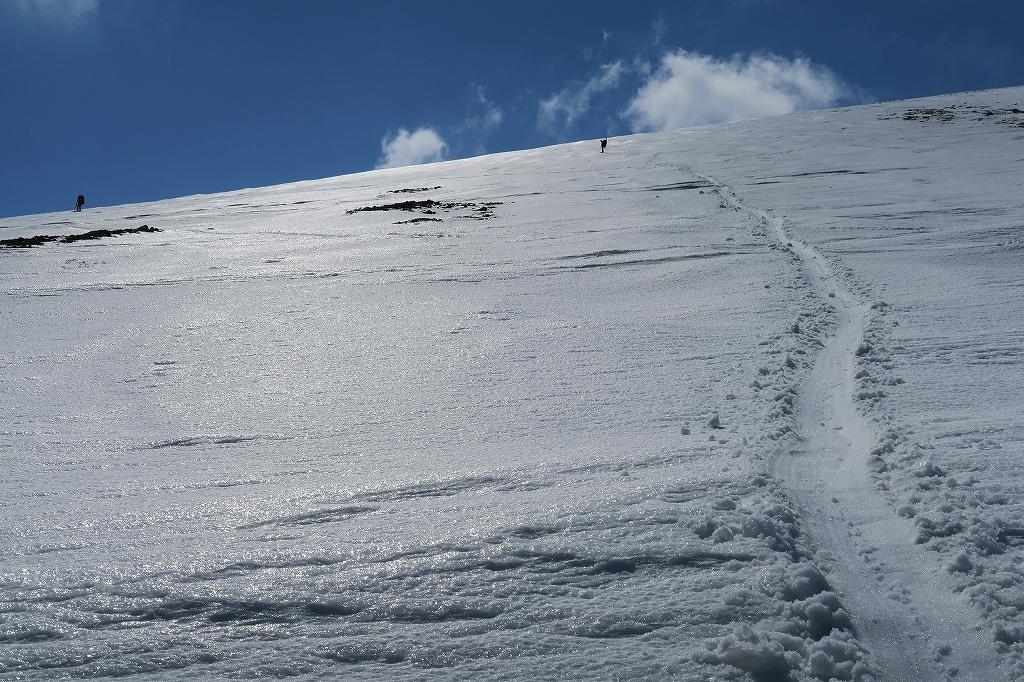 樽前山、4月1日-速報版-_f0138096_1532612.jpg
