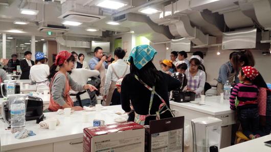象印ライスマイル炊飯教室でした_b0171098_10103257.jpg