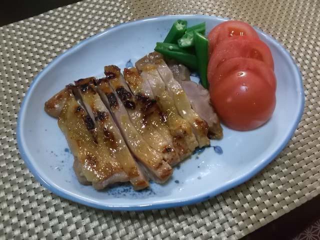 鶏もも肉の味噌粕漬け_f0019498_17412116.jpg