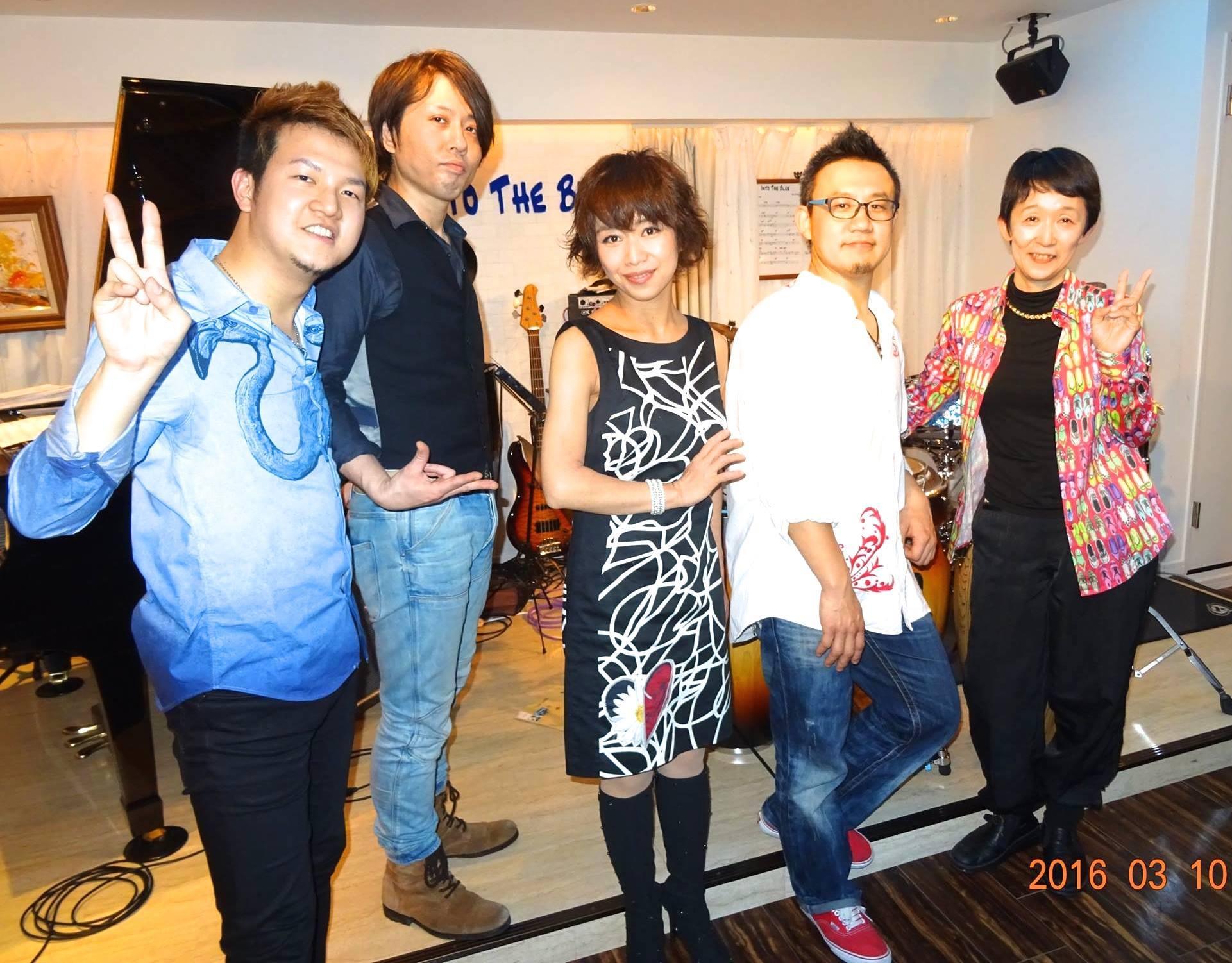 Latin Jazz Night@町田into the Blue_b0131865_16582005.jpg