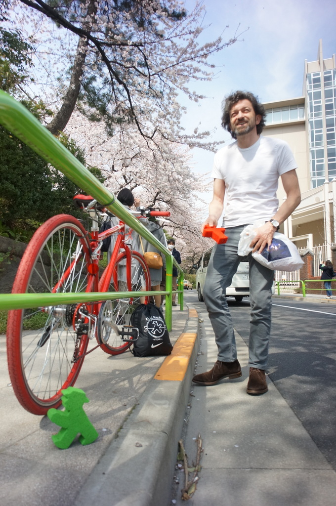 東京、桜満開です。_c0180686_08550901.jpg