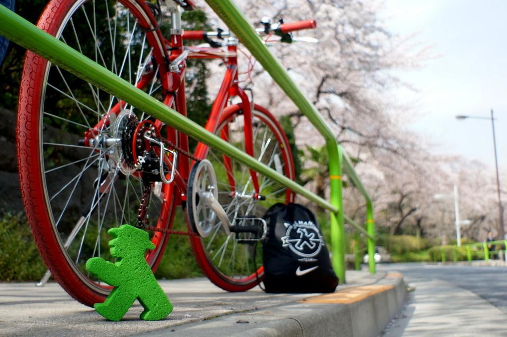 東京、桜満開です。_c0180686_08551500.jpg