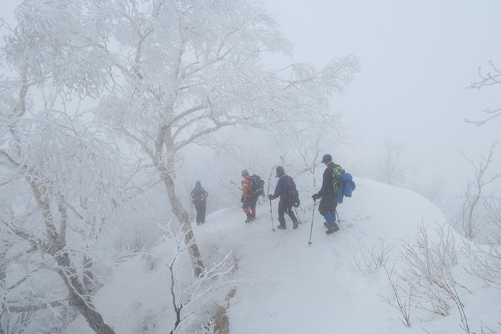 北尾根から風不死岳、4月2日_f0138096_22153956.jpg