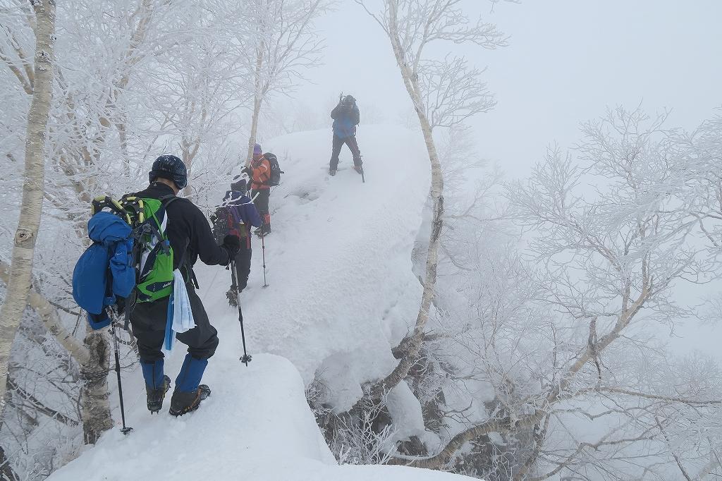 北尾根から風不死岳、4月2日_f0138096_22154734.jpg