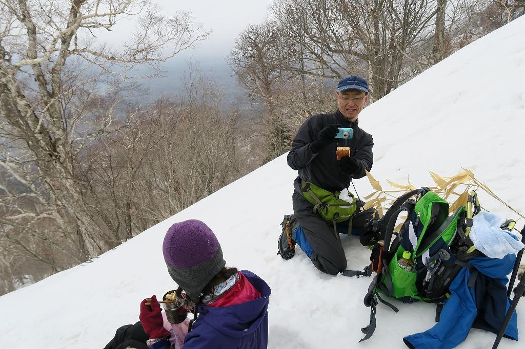 北尾根から風不死岳、4月2日_f0138096_22161560.jpg