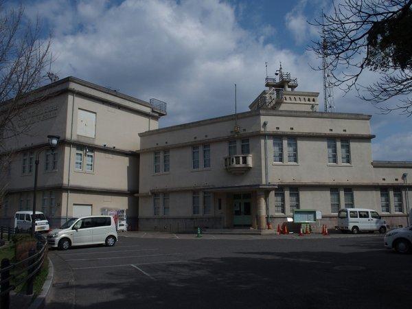 江波山気象館(旧広島測候所)_b0190540_8554798.jpg