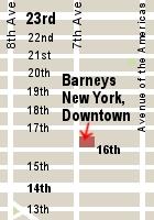1923年の創業の地に帰ってきたバーニーズ・ニューヨーク Barneys New York, Downtown_b0007805_12473383.jpg