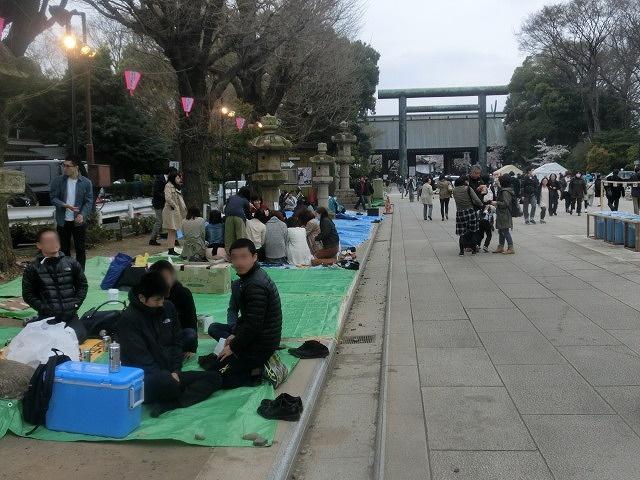 上野公園、北の丸公園、靖国神社  東京はどこも桜が満開なのに_f0141310_823368.jpg