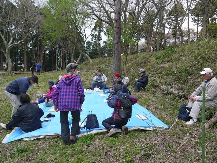 花冷えの中、六国見山のシンボルツリー『夫婦桜』探訪4・2_c0014967_12243381.jpg