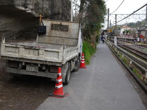 速報!鎌倉市が開削工事強行着工:緑の洞門通行禁止_c0014967_19243879.jpg
