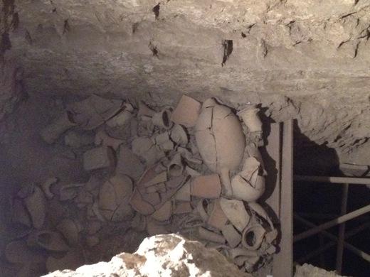 ヴェッキオ宮殿の地下へ行ってみよう_a0136671_00257.jpg