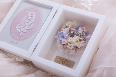 ご両親贈呈花【フォトフレーム】1dayレッスン_e0212771_16475952.jpeg
